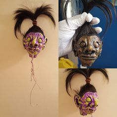 Creepy and cute shrunken heads in a variety of colors. Get yours today!