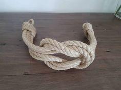Cáñamo cuerda nudo cuadrado doble cortina náuticos Tie-Backs /