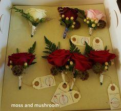 Moss and Mushroom - bespoke wedding floristry and heirloom bouquets by Liza Keane Wedding florist, Ballina Killaloe, Co. Fresh Flowers, Christmas Wreaths, Wedding Flowers, Stuffed Mushrooms, Bouquet, Gift Wrapping, Weddings, Holiday Decor, Stuff Mushrooms