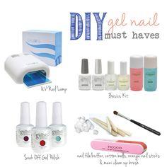 DIY gel nail must-haves
