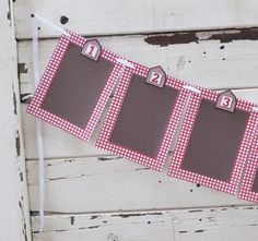 Barn 12 Month Photo Banner Farm 1st by CardsandMoorebyTerri, $30.00