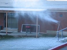 How to Make Snow - Running Your Home Snowmaker