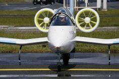 E-Fan electric experimental aircraft