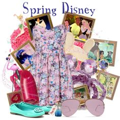 """""""Spring Disney"""" by agust20 on Polyvore"""