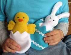 Spring Friends: Chick + Bunny– Tutorial + Pattern | Sew Mama Sew | Outstanding sewing, quilting, and needlework tutorials since…