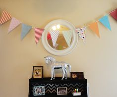 DIY Party Pennant Banner