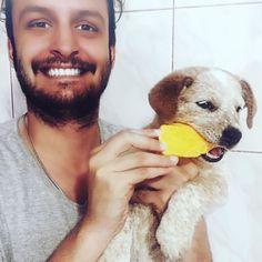 Eu e o #cãochupandomanga!  #Guinevere  #Cão #Dog #Perro #Chien #Cachorro #RedHeeler #heeler #Manga #Me não é #BlueHeeler!