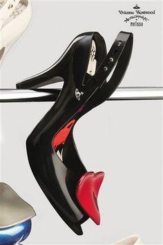 69d98972d043 Buy Vivienne Westwood Lady Dragon Black Heart Heel Shoes from the Next UK  online shop