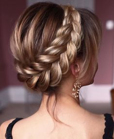 Best Womens Hairstyles For Fine Hair – HerHairdos Best Wedding Hairstyles, Prom Hairstyles, Straight Hairstyles, Braided Hairstyles, Easy Hairstyle, Braided Short Hair, Hairstyle Ideas, Hair Updo, Face Shape Hairstyles