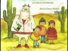 """Maria Elena Walsh interpreta su canción: """"La vaca estudiosa"""""""