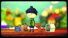 LA PÉRDIDA DE CHAPU. Cortometraje de animación. Plan Nacional de Fomento de la Lectura en Chile