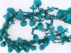 A personal favorite from my Etsy shop https://www.etsy.com/listing/549383294/157-turquose-bead-crochet-turkish-oya