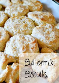 6 Ingredient Buttermilk Biscuit Recipe super easy to make every week