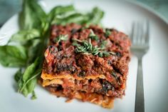Three Meat Paleo Lasagna | The Paleo Fix