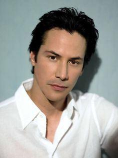 My long standing man crush- Keanu Reeves. mmm mmm..... I know I know - the acting doesn't always compliment the looks ;)