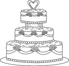 Wedding Cake Coloring Pages one of the most popular coloring page in Cake category. Explore more coloring pages like Wedding Cake Coloring Pages from the Coloring. Cupcake Coloring Pages, Rose Coloring Pages, Wedding Coloring Pages, Happy Birthday Coloring Pages, Coloring Pages To Print, Free Printable Coloring Pages, Coloring Books, Free Coloring Pictures, Cake Drawing