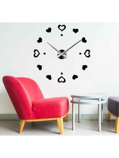 Ceas de perete 3D-Dragoste Referinta  12S046-S-Wall clock  Conditie:  Produs nou  Disponibilitate:  In Stock  Alegeți-vă propria culoare! Completați un loc vacant și relaxați-vă casa cu un ceas nou. Ceasurile de perete mari reprezintă un decor unic al interiorului dvs. E timpul să se schimbe.