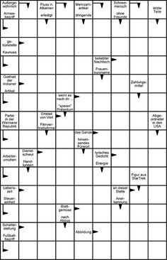 kreuzwortr tsel schwedenr tsel mit buchstaben f r kinder ab 12 jahren demenz crossword und. Black Bedroom Furniture Sets. Home Design Ideas