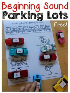 Get ten free printables for practice with letter sounds!