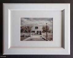 Fotografia paesaggi e abitazioni del Camargue -Francia- b1, con cornice bianca