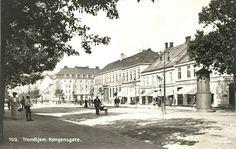 Sør-Trøndelag fylke Trondheim TRONDHJEM Kongensgate tidlig 1900-tall Utg C.A.Erichsen