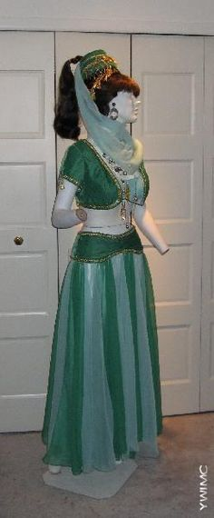 I Dream Of Jeannie replica movie costume Sister Costumes, Movie Costumes, Dance Costumes, Cosplay Costumes, Halloween Costumes, Carnival Costumes, I Dream Of Jeannie, Aladdin Costume, Vestidos