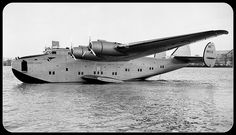 Boeing 314 Yankee Clipper 1939  The apex of flying boat design was the Boeing B-314. Sometimes known as the Yankee Clipper or Dixie Clipper type, the luxurious B-314 provided the first scheduled heavier-than-air passenger service across the Atlantic ocean.    This Pan American World Airways Boeing 314 Yankee Clipper (serial NC18603), circa 1939. This aircraft started the Transatlantic mail service. It crashed in Lisbon, Portugal, on 22 February 1943 and was written off.