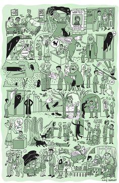 Os livros e o filme você já conhece, mas aposto que você nunca viu a história de Harry Potter desta forma. O trabalho foi feito pela artista Lucy Knisley que conseguiu condensar em apenas um desenh…