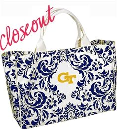 $24 Smaller than our best selling City Tote this thick canvas bag is the perfect game day size. Hurry while supplies last.