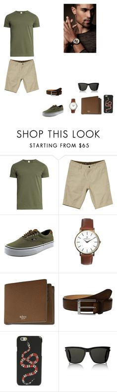 """""""Untitled #58"""" by martaalmeida-i on Polyvore featuring Sørensen, NAU, Vans, Mulberry, To Boot New York, Gucci, Yves Saint Laurent, men's fashion and menswear"""