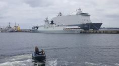 Kiel - auf der Tirpitzmole