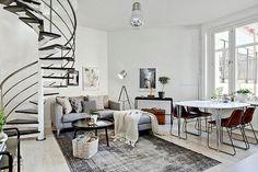 Delicious apartment in Gothenburg (Daily Dream Decor) Living Room Inspiration, Home Decor Inspiration, Small Living, Living Spaces, Living Room Designs, Living Room Decor, Home Decor Lights, Interior Decorating, Interior Design