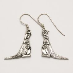 Mother and Baby Kangaroo Earrings at theBIGzoo.com, a toy store that has shipped over 1.2 million items.