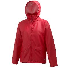 This Helly Hansen classic is a 100% waterproof and windproof rain jacket for kids.