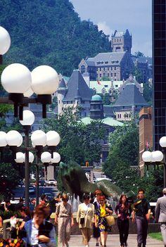 View of Mont-Royal from Downtown