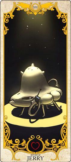 Undertale Tarot Cards: Jerry
