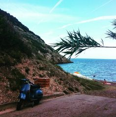 Discover Elba with a Piaggio scooter - A pinch of ginger spice - Isola d'Elba tour 2016