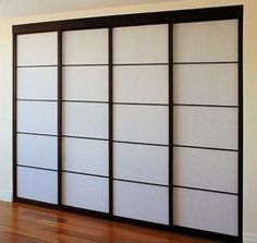 pictures of contemporary asian style closet doors - Google Search