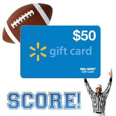 $50 Walmart Gift Card | Listia | Pinterest | Walmart