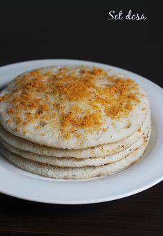 set dosa recipe - Learn how to make soft, spongy and mouth melting set dosa with step by step pictures. set dosa is served with coconut chutney