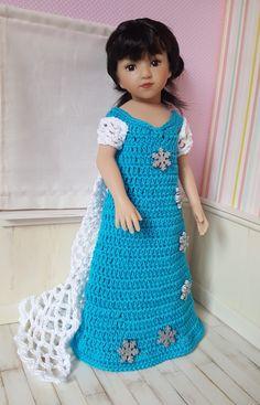 """Maru vous présente aujourd'hui la tenue """"Stéphania"""" qui convient aux poupées de 32-34cm Chérie de Corolle, Paola Reina, Little Darlin..."""