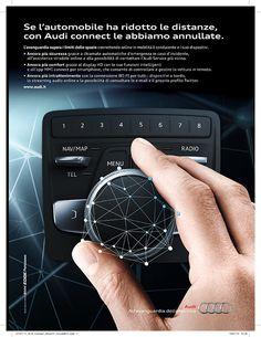 Pubblicità Audi Connect #copywriter #audi