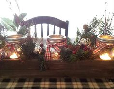 Country table piece