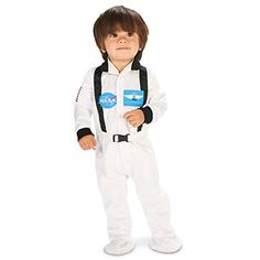 White Astronaut Infant Costume 1218M