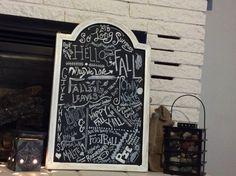 Fall 2015 chalkboard art