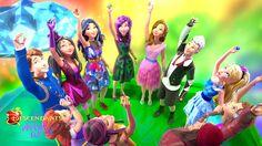 """Mal and Evie lead the original song """"Better Together"""" debuting in tonight's new Wicked World Descendants Wicked World, Disney Channel Descendants, Sofia Carson, High School Musical, Disney Nerd, Disney S, Dove Cameron, Animation News, Dibujo"""