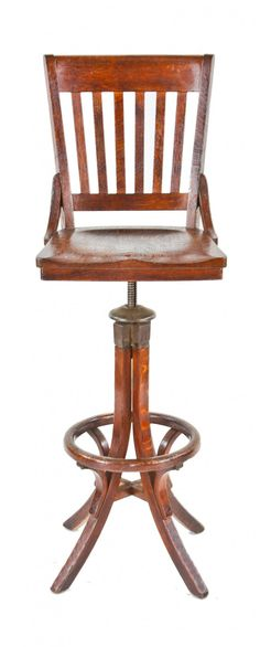 Lovely Work Stool with Back