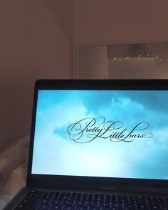 Yes, please. #love #series #pll #prettylittleliars #blue #home #macbook #computer #home decor