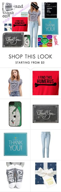 """Thank you so much guys!!!! My goodness!!!"" by kristinberchak ❤ liked on Polyvore featuring beauty, CellPowerCases, GET LOST, Frame, Arthur George and Sugar Paper"