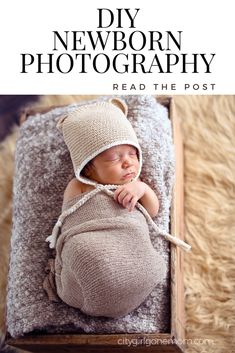 5 Tips for DIY Newborn Photography | Smile Baby | http://citygirlgonemom.com